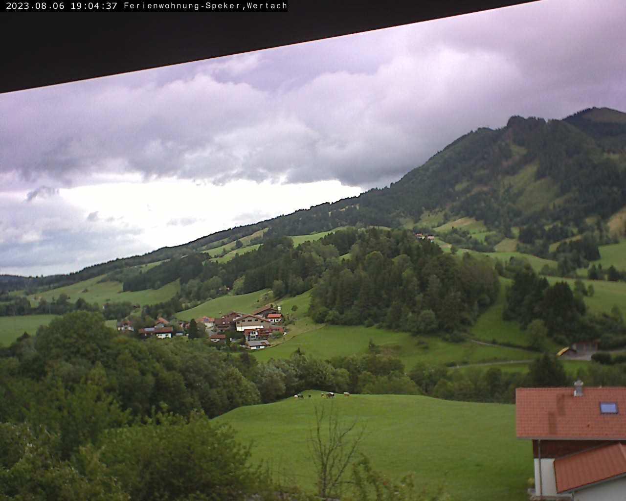 Bichel 1.000 m mit Blick auf die Reuterwanne